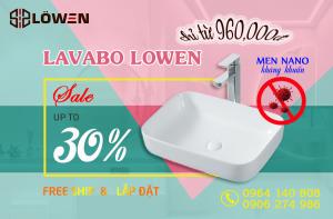 LAVABO LOWEN SALE UP TO 30%