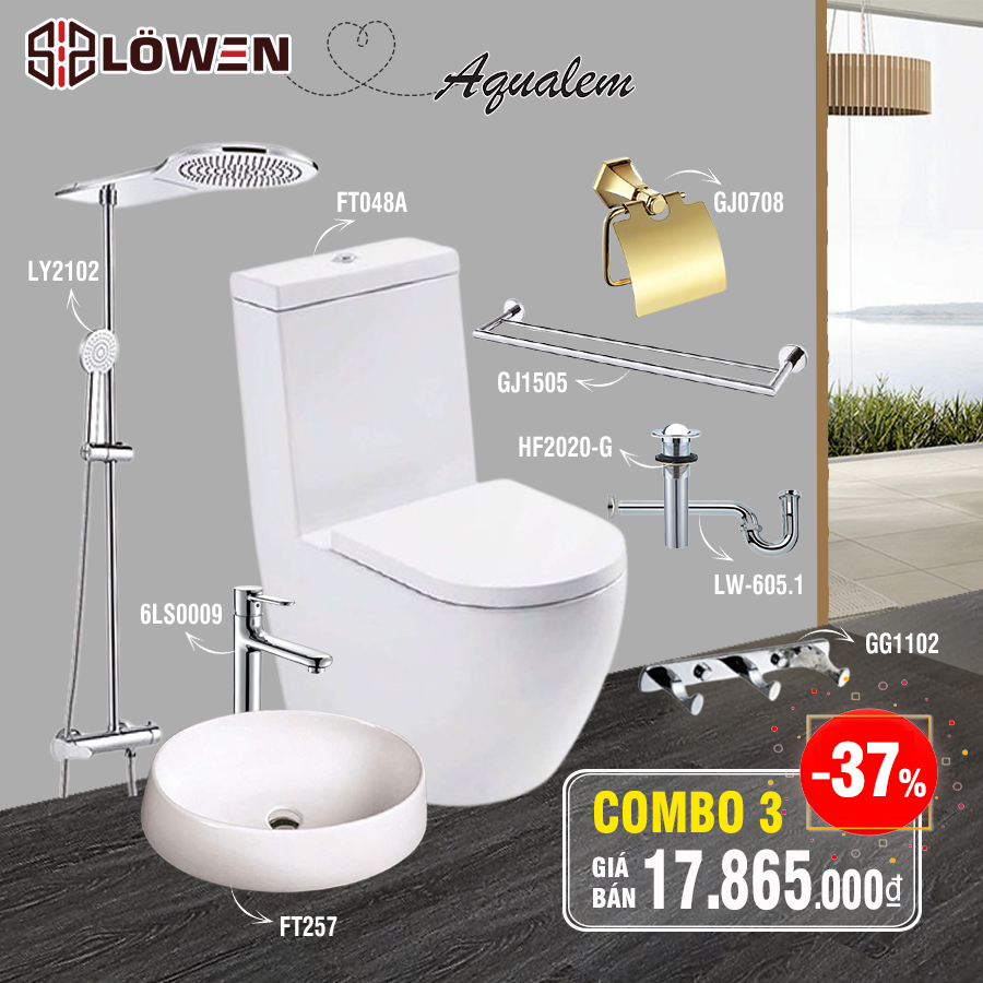 COMBO LOWEN - AQUALEM CAO CẤP 03