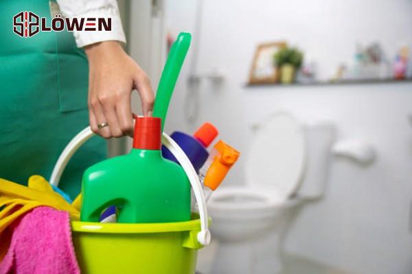 Thói quen giữ cho nhà tắm sạch sẽ
